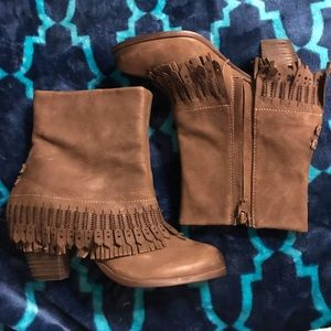 Women's Naughty Monkey booties size 6.5
